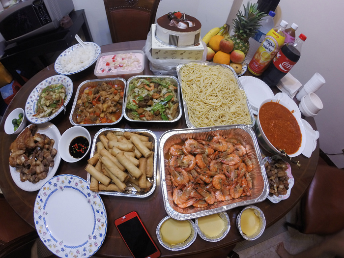 TTN Ministry -- Philippine Christmas Eve Meal